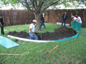 Protecting A Concrete Slab Foundation With Root Barriers Repair My